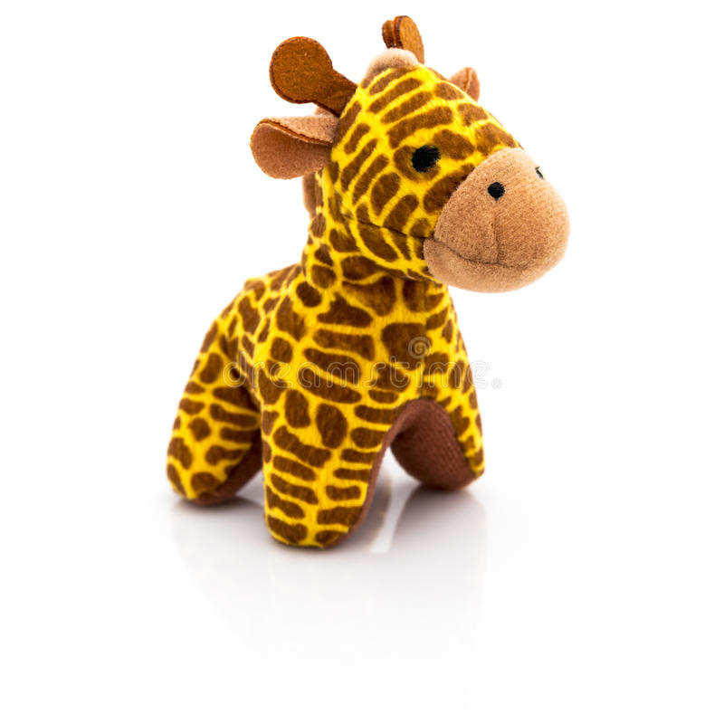 Free Plush Toy Giraffe Stock Photography - 37872052