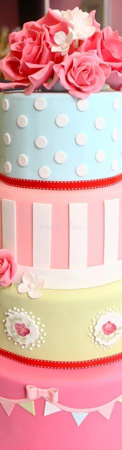 Gâteaux de partie images libres de droits