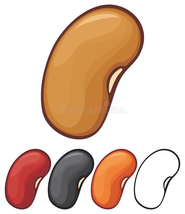 Haricots illustration stock