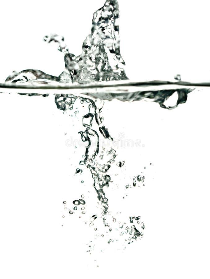 plusk wody fotografia stock