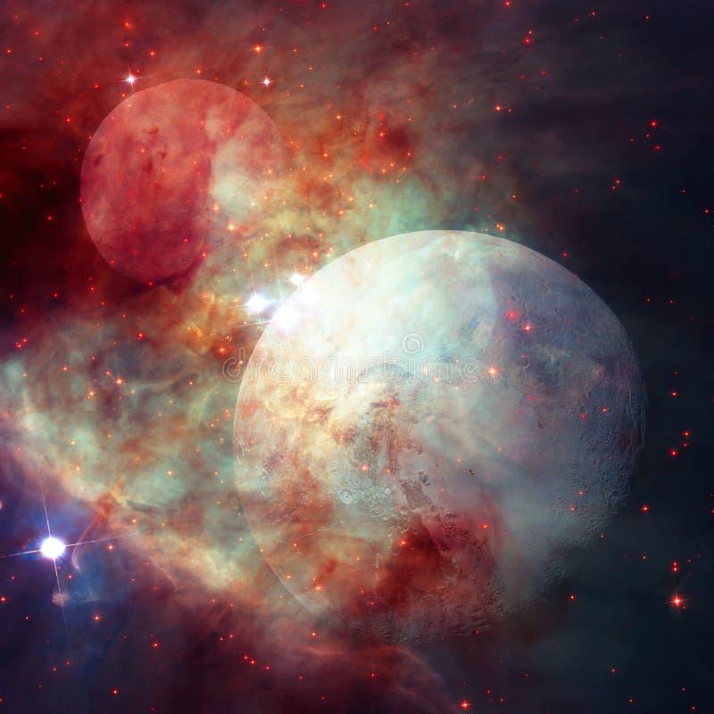 Pluto ist ein Planet im Kuiper-Gürtel Elemente dieses Bildes geliefert von der NASA stock abbildung