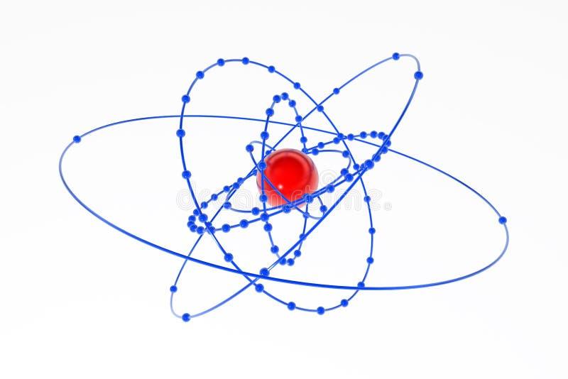 Plutonium-Atom stock abbildung