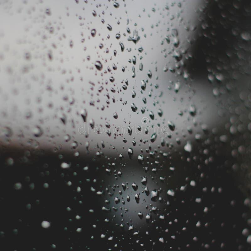 Pluvieux en tant que moi sombre image libre de droits
