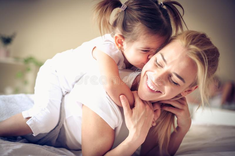 Plying with my baby girl is most beautiful part of day. Lifestyle stock image