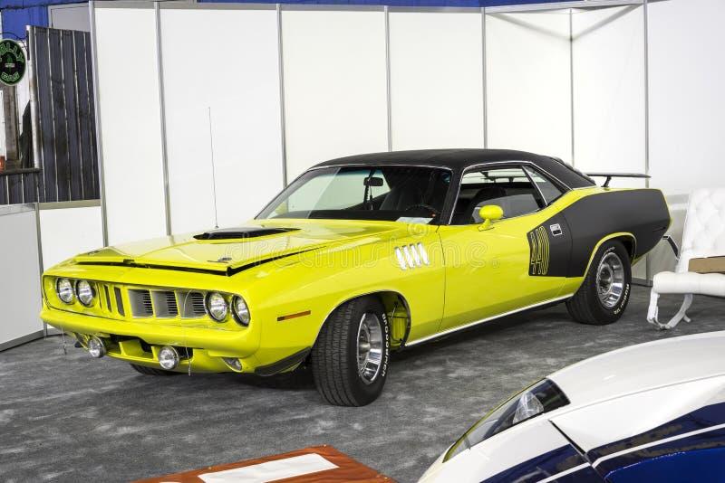 1971 Plymouth cuda stock photos