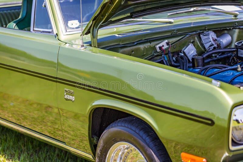 1972 Plymouth Dzielny huncwot zdjęcie stock