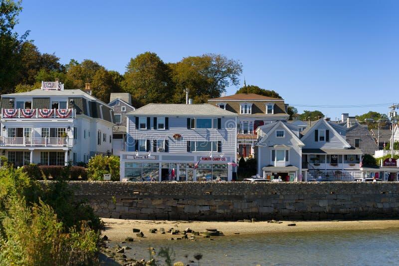 Plymouth Massachusetts na Cape Cod zdjęcie stock