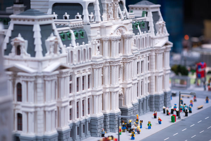PLYMOUTH MEETING, PA - APRIL 6: Grand Opening of Legoland Discovery center Philadelphia, PA on April 6, 2017. PLYMOUTH MEETING, PA - APRIL 6: Grand Opening of royalty free stock photography