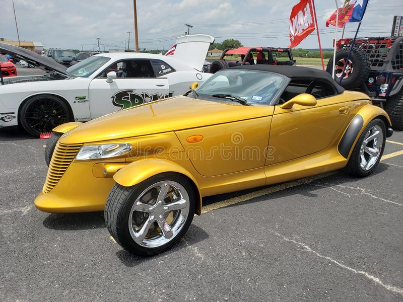 Plymouth Prowler obrazy royalty free