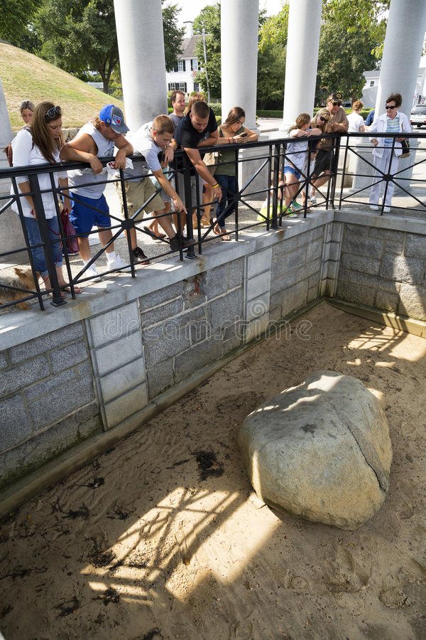 Plymouth Rock arkivbild