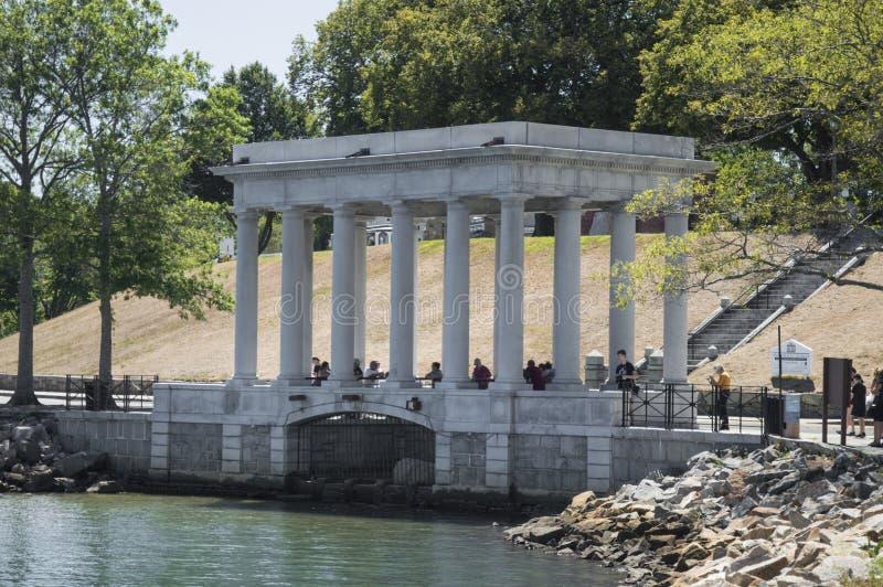 Plymouth Rock, miliampère, EUA foto de stock royalty free