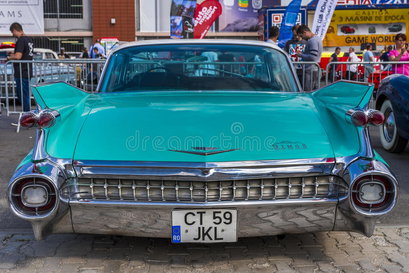 Plymouth tappningbil arkivfoto