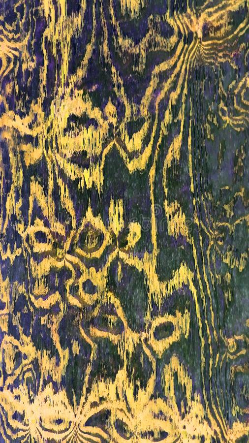 Plywood pattern. Abstract pattern of worn plywood surface royalty free stock image