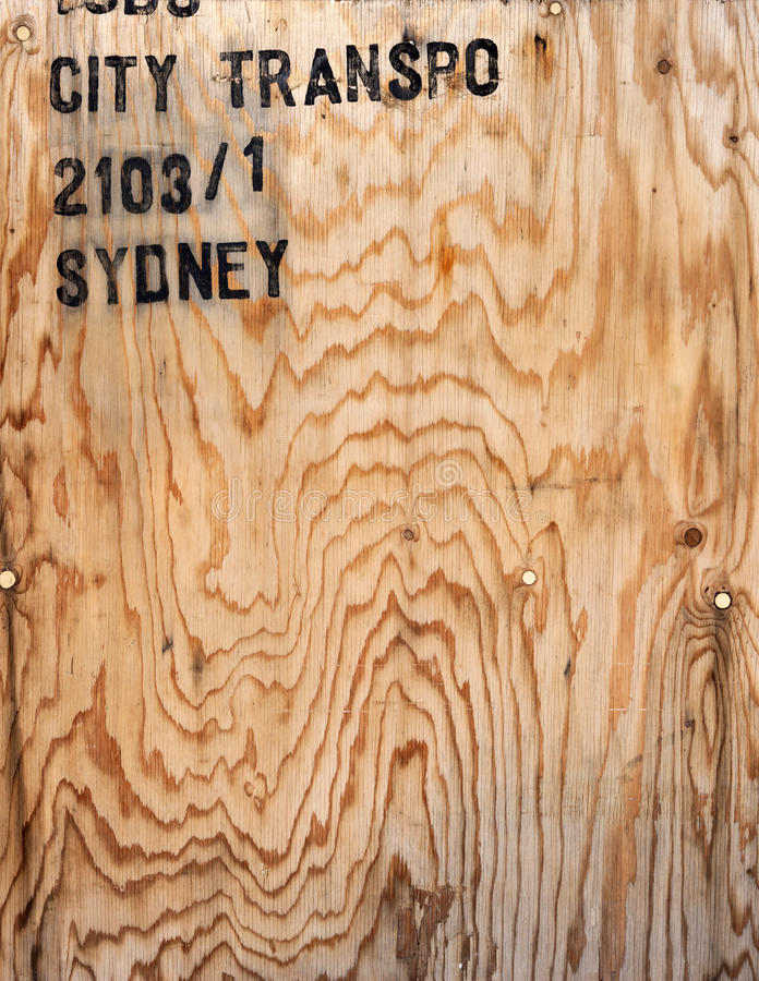 Plywood Wood Crate Background royalty free stock photography