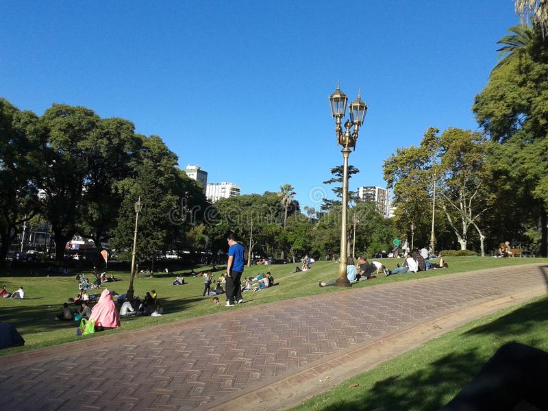 Plza Manuel Belgrano στοκ φωτογραφίες με δικαίωμα ελεύθερης χρήσης