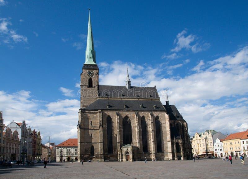 Plzen, République Tchèque photo libre de droits