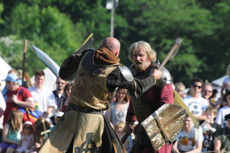 PM de Fictum Live At (Phantasie medieval Spectaculum), Weil Am Rhein, 2012 fotografia de stock royalty free