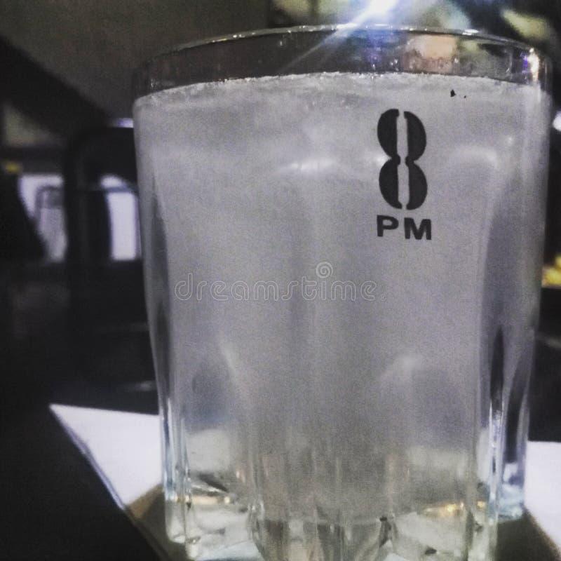 8 pm vodka royalty free stock photography