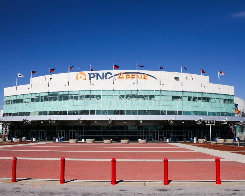 PNC-Arena, Raleigh, North Carolina lizenzfreies stockbild