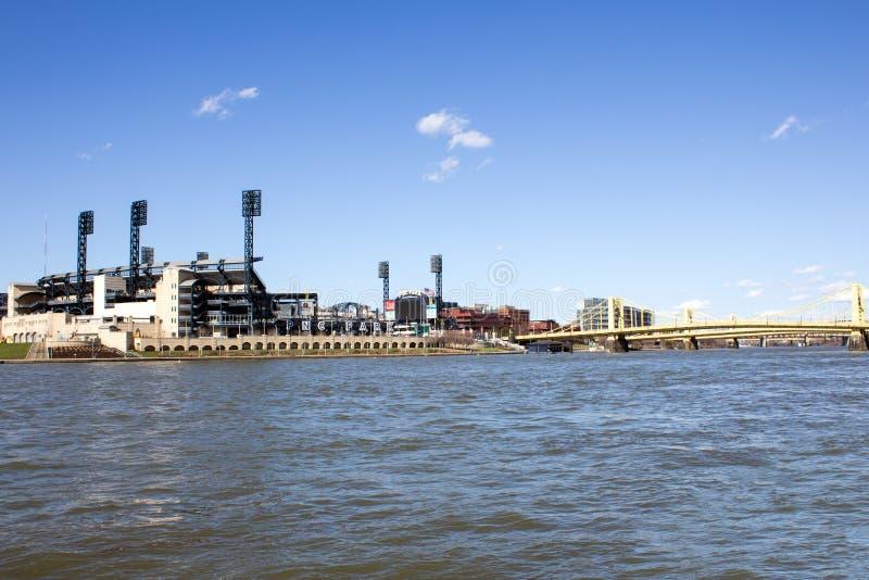 PNC Park and Bridge stock images