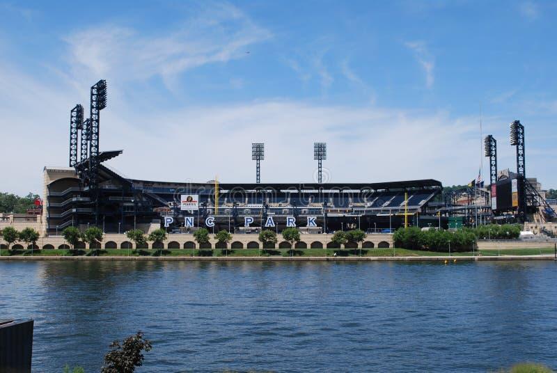 PNC Park, Pittsburgh, PA lizenzfreies stockbild