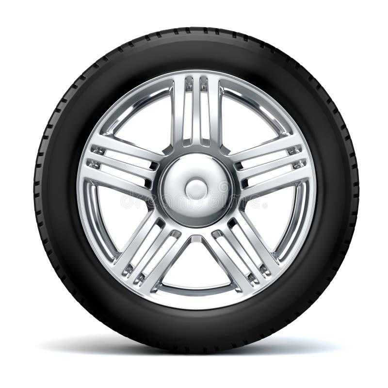 pneu 3d illustration libre de droits
