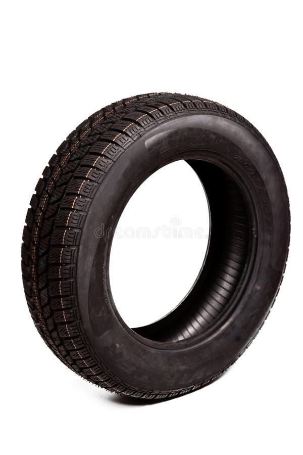 pneu d'isolement par véhicule photographie stock libre de droits