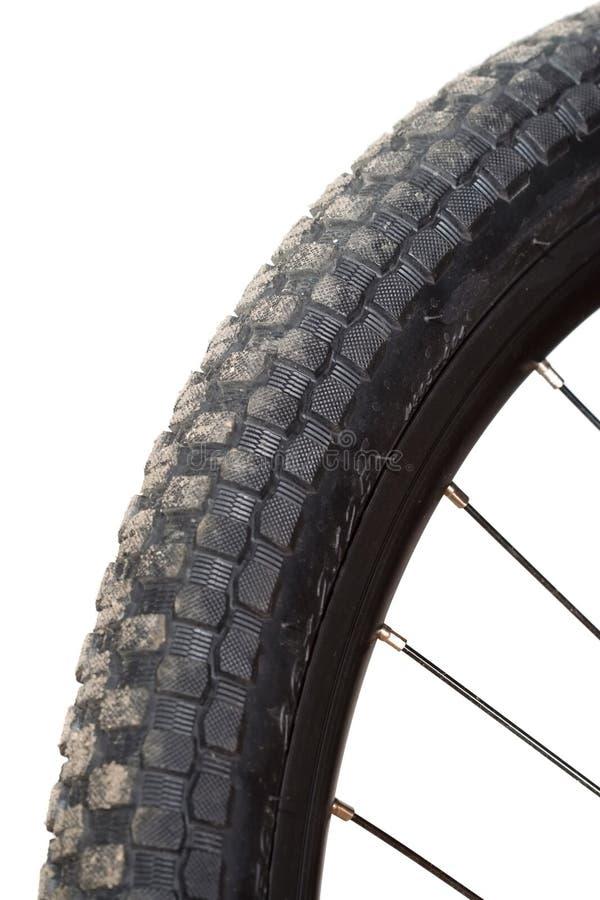 pneu de montagne de vélo photo libre de droits