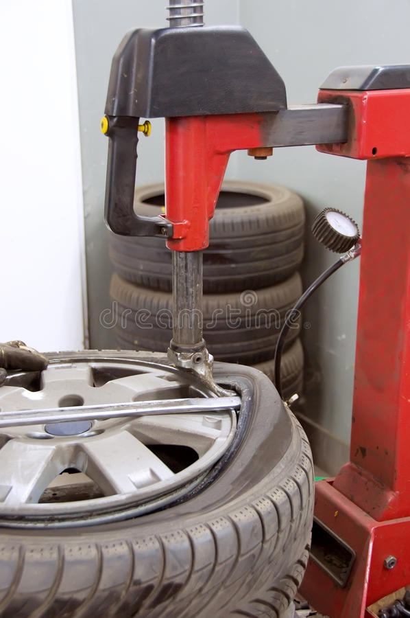 pneu se pliant photo libre de droits