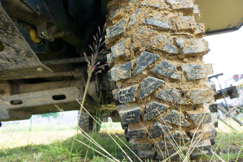 pneumático da movimentação de 4 rodas imagens de stock royalty free