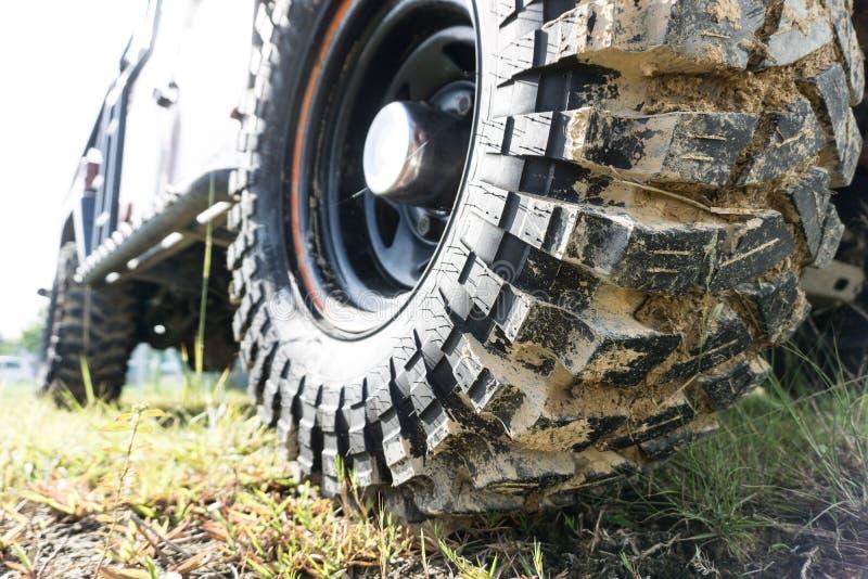 pneumático da movimentação de 4 rodas imagem de stock