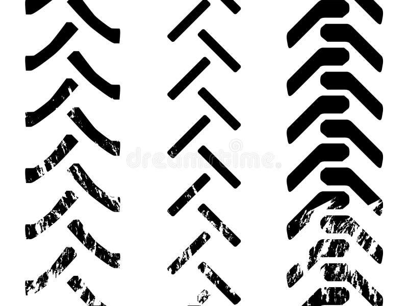 Pneumático do trator ilustração do vetor