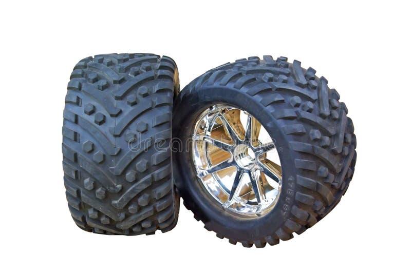pneumáticos 4x4 ilustração do vetor