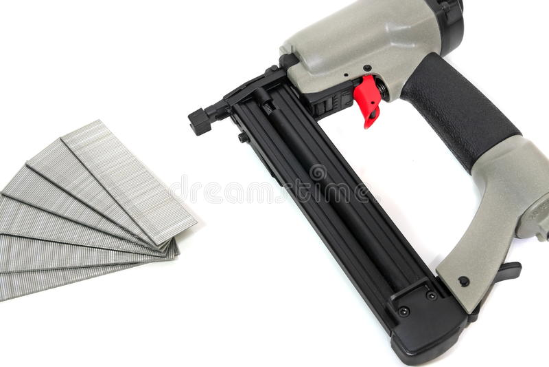 Download Pneumatic Nail Gun stock image. Image of nailing, tools - 13231139