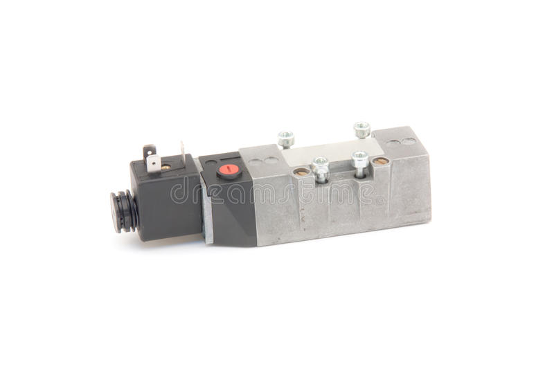 Pneumatic valve stock images