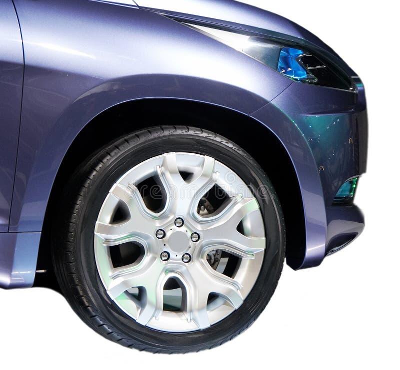 Pneumatico dell'automobile fotografia stock libera da diritti