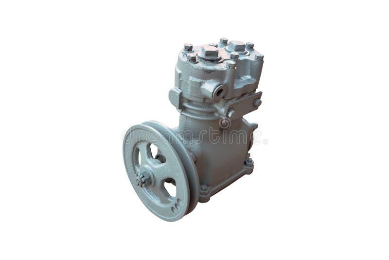 Pneumatische compressor voor de rem royalty-vrije stock foto's