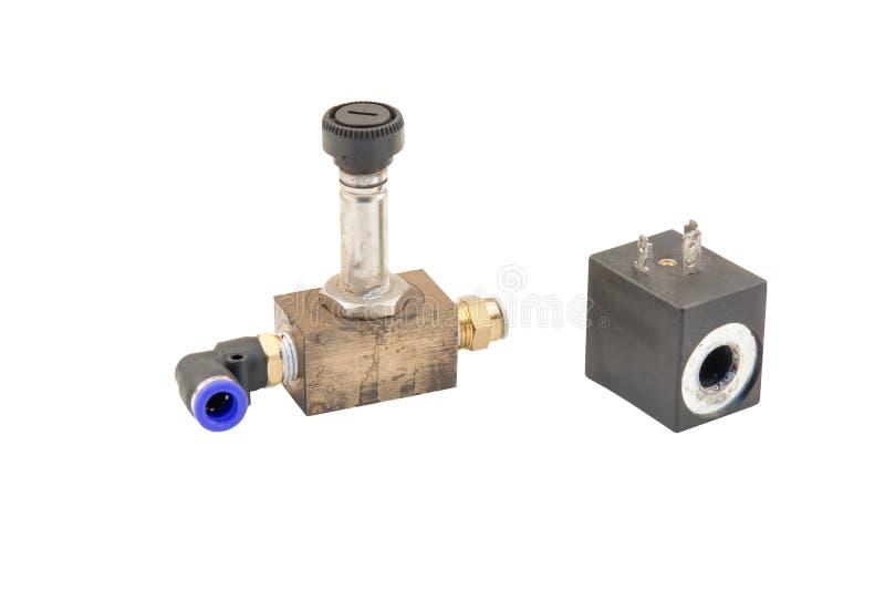 Pneumatisk ventil royaltyfri fotografi