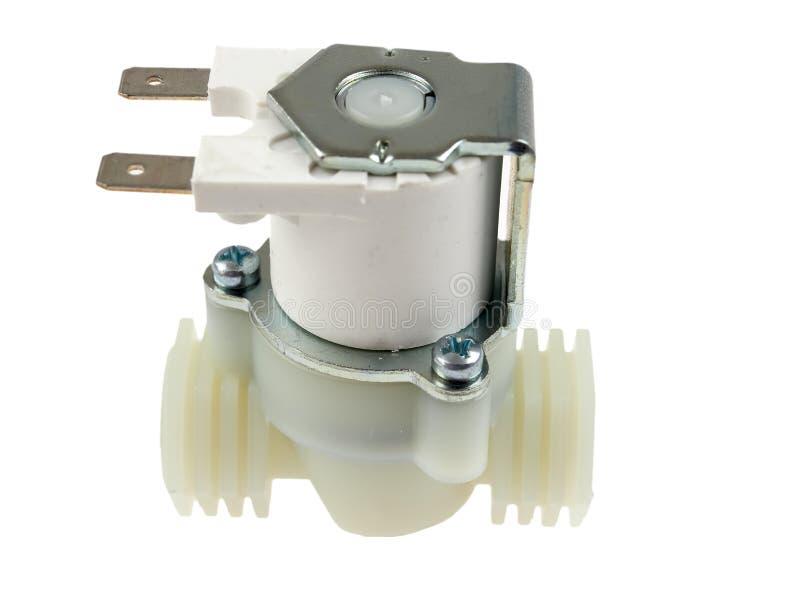 Pneumatisk ventil för solenoid royaltyfri bild