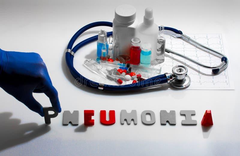 pneumonie photographie stock libre de droits