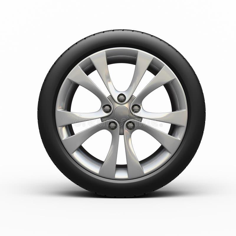 pneus et roue d 39 automobile illustration stock illustration du roue 26103196. Black Bedroom Furniture Sets. Home Design Ideas