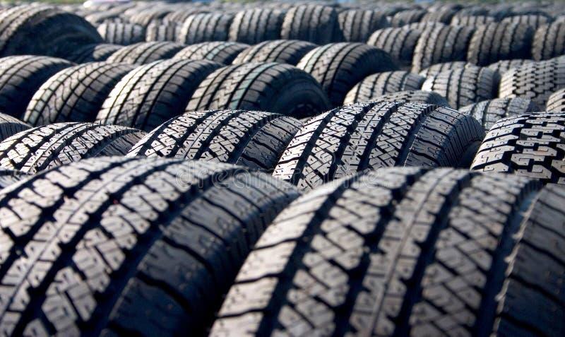 Pneus, pneus, pneus photo stock