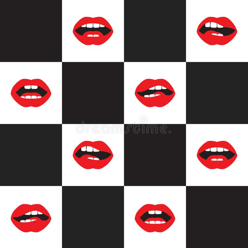 PNF Art Pattern ilustração do vetor