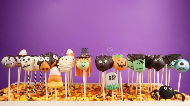 PNF do bolo de Halloween foto de stock royalty free