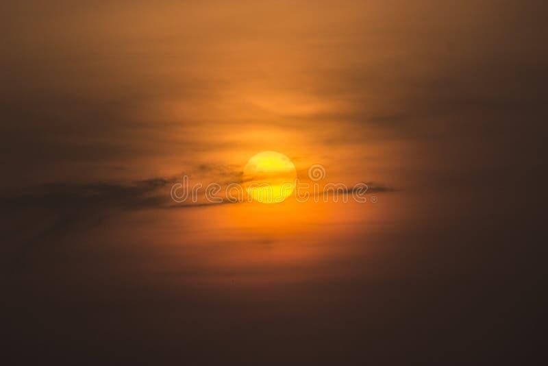 Położenia Słońce obraz royalty free