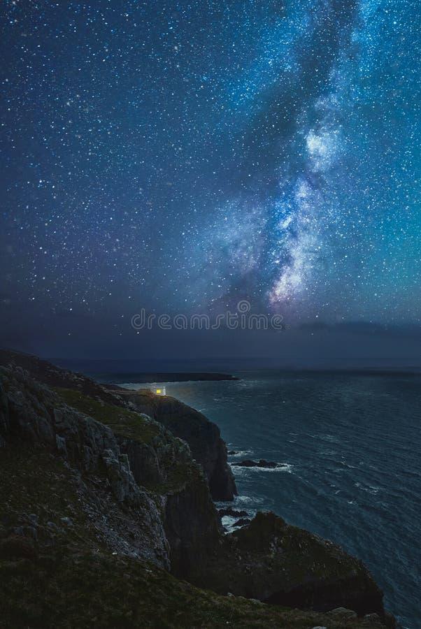 Południe sterty latarnia morska zdjęcie royalty free