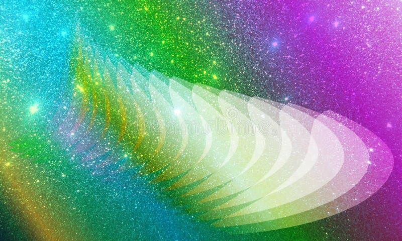 Połyskuje textured tło, tło, Jaskrawego, jaśnienia i oświetleniowych skutków, ilustracja wektor