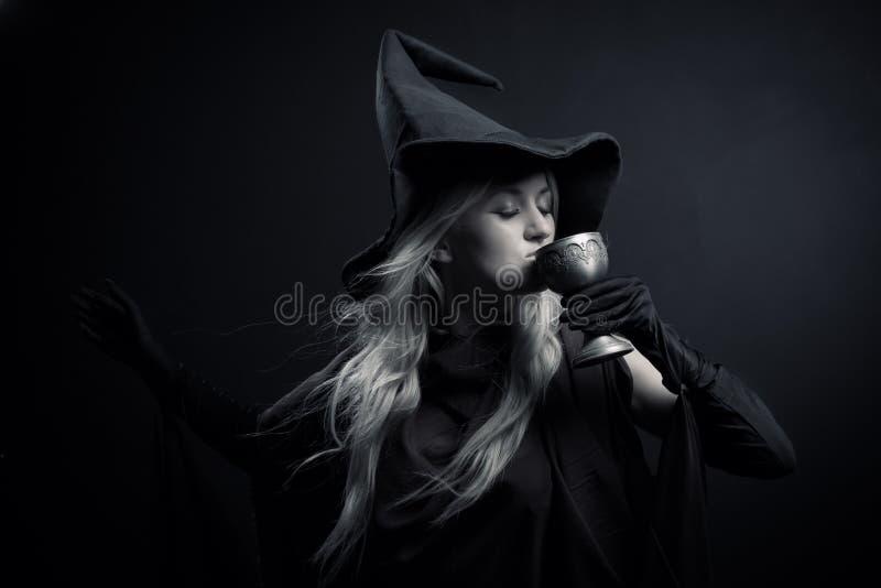 Poção mágica fotografia de stock royalty free