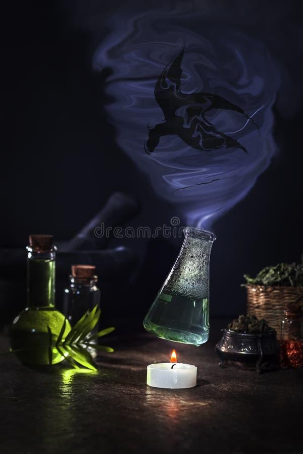 Poção mágica imagens de stock royalty free