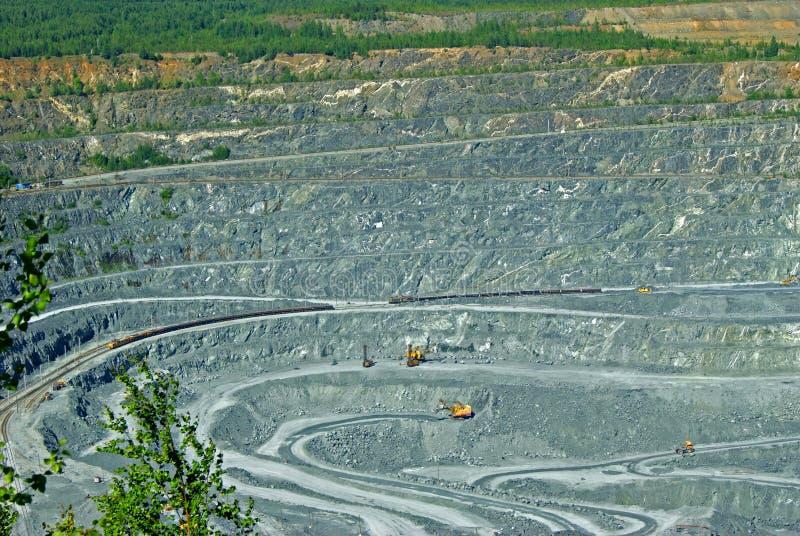 Poço da mineração imagens de stock royalty free